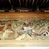 山門 龍虎の彫刻