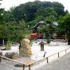 四方礼拝の庭